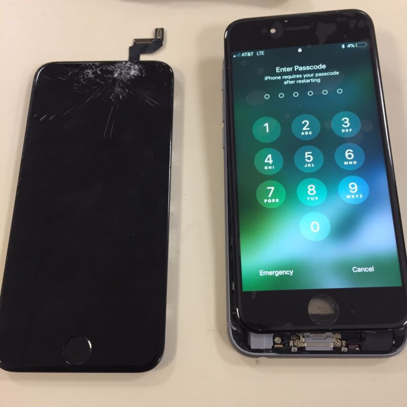 Iphone 6 Cracked Screen Glass Repair Replacement Mail In Service