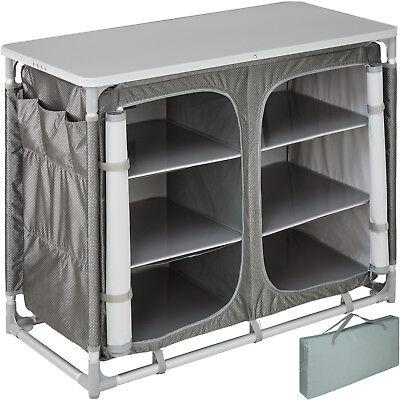 Campingküche Alu Küchenbox Campingschrank Faltschrank Reiseküche Küche faltbar  Camping Küche