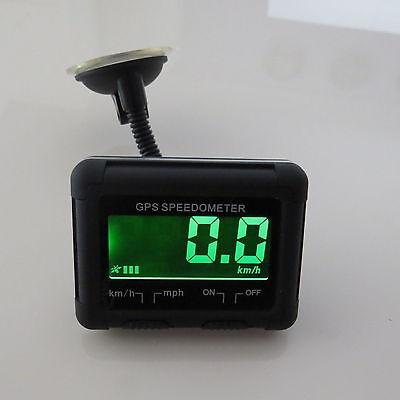 Universal Wireless Digital GPS + Air Vent Mount LCD Display MPH Speedometer Car