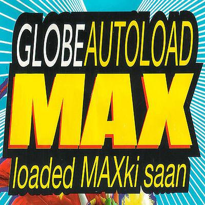 как выглядит Карта для пополнения баланса GLOBE Prepaid Load P300 45 Days Autoload Max Eload Touch Mobile TM Philippines фото