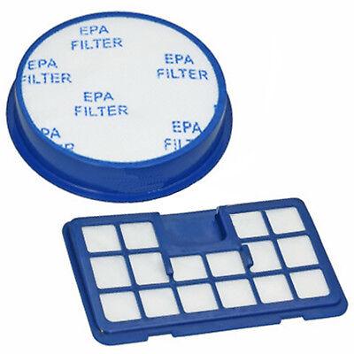 U64 Type Pre & Post Motor Exhaust Blue HEPA Filter Set for HOOVER Vacuum Cleaner