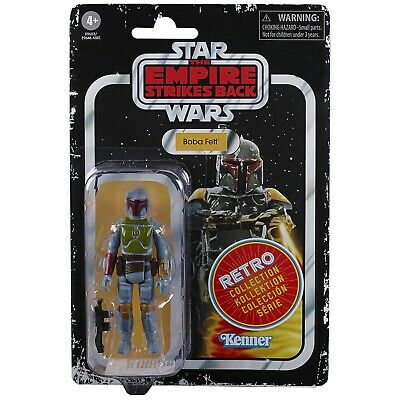 Star Wars Retro Collection Boba Fett Action Figure Vintage Style PRE ORDER