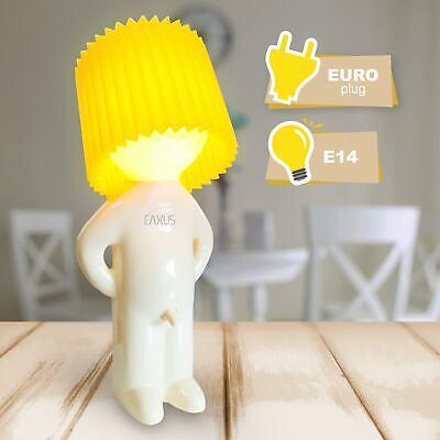 Witzige Tischlampe + Lampenschirm   Nachttischlicht Mr. Pee   Dekoleuchte Fun