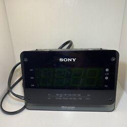 Sony Clock Radio Dream Machine ICF-C414 FM / AM LED Digital Dual Alarm Tested