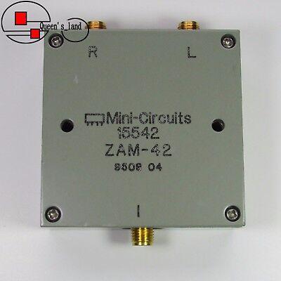 1 Mini-circuits Zam-42 1.5-4.2ghz Sma Rf Coaxial Frequency Mixer