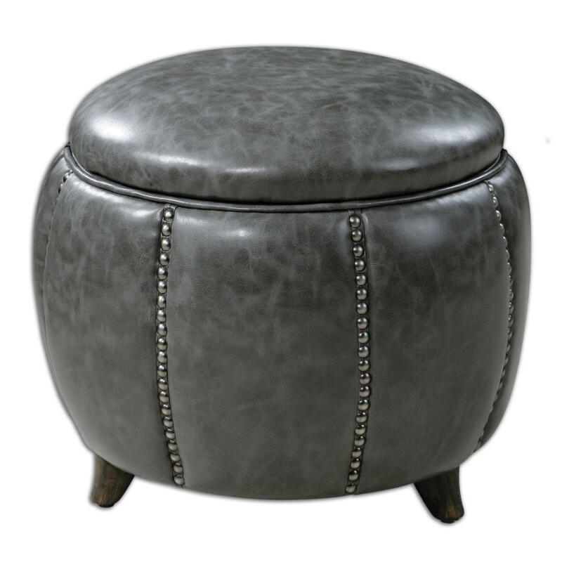 Round Storage Ottomans - Storage Ottoman EBay