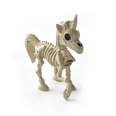 Skeleton For Halloween (Skeleton Unicorn Figurine - Halloween Decoration for Shelves,)