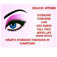 Eyebrows Threading/Waxing & Services In Downtown( South Street)