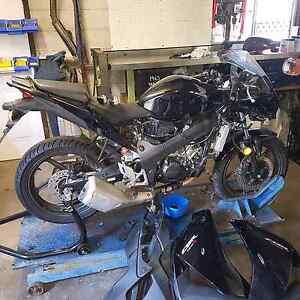 Wrecking honda cbr 125r 2012/cbr 125r 07/suz.gs1000g/yam.it250/46 Newcastle Newcastle Area Preview