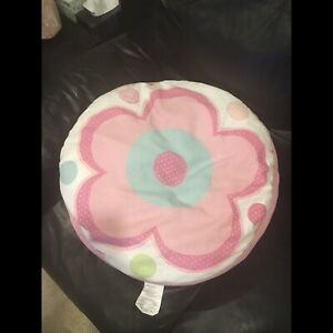 "Large pillow (24"" diameter x 7"" high) pottery barn"