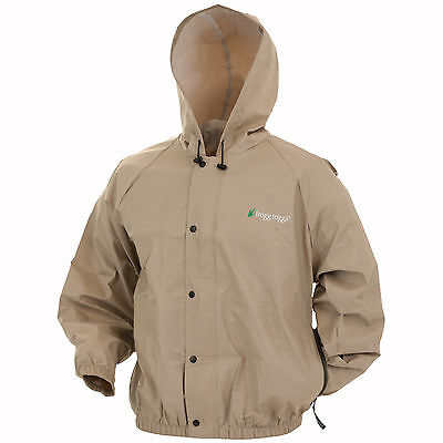 Frogg Toggs Pro Lite Rain Jacket Pl62111 Waterproof Breathable   Free Stuff Sack