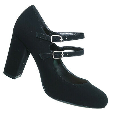 Curt Comfort Padded Mary Jane Pump - Women Double Strap Office Shoes