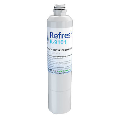 Refresh Replacement Water Filter - Fits Samsung RF28HFEDTSR/
