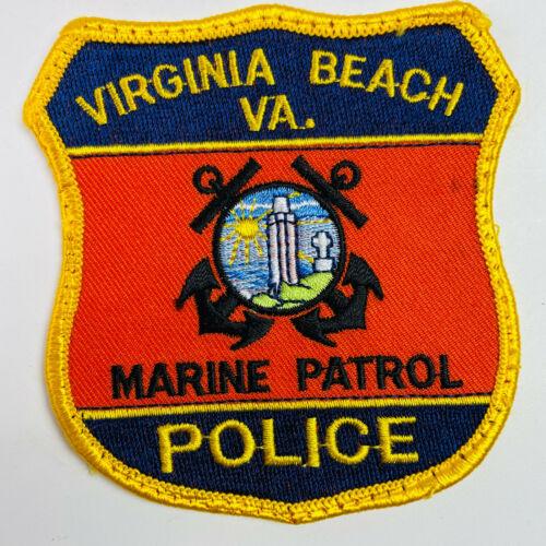 Marine Patrol Virginia Beach Police Virginia VA Patch (A6-E)