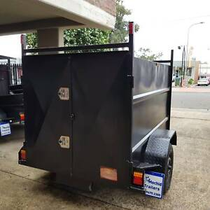 7x4 Enclosed Trailer 750kg GVM with 2 Doors