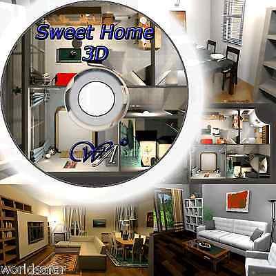 3D CUCINA DESIGN CASA SOFTWARE DI PROGETTAZIONE 2D/3D PC ROM NUOVO + P&P
