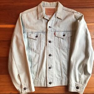 Levi Strauss Denim Light Blue Jacket Size 42 Regular Like New