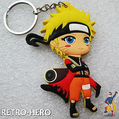 Naruto Uzumaki Schlüsselanhänger - Shippuuden Keychain Anhänger Anime Manga #1