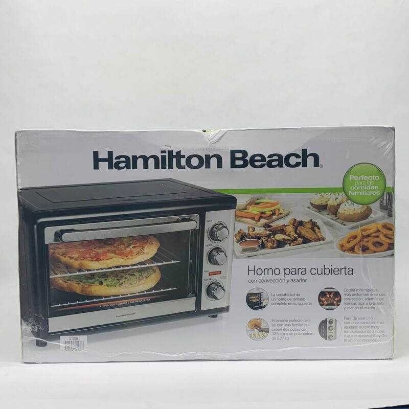 🔥✅ Hamilton Beach Countertop Oven With Convection And Rotisserie 31108