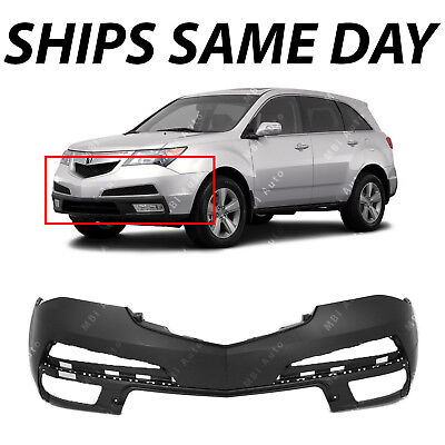 NEW Primered Front Bumper Cover Fascia for 2010-2013 Acura MDX w/out HL Washers Acura Mdx Front Bumper