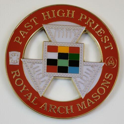 Auto Emblem Royal Arch Mason Past High Priest Freemason Masonic