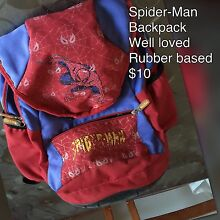 Spider-Man backpack Maddington Gosnells Area Preview