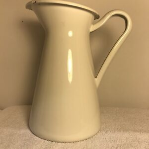 Old fashioned water pitcher