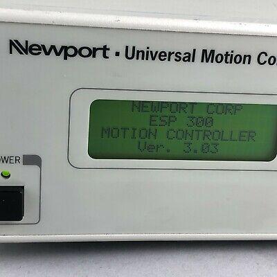 Newport Esp300 Motion Controllerdriver
