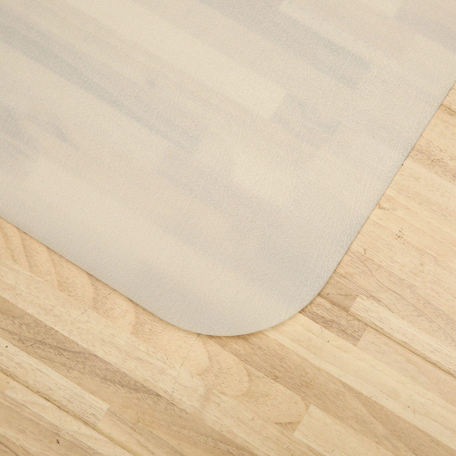 Bodenschutzmatten für Hartböden in 10 Größen Bürostuhlunterlage Bodenschutzmatte