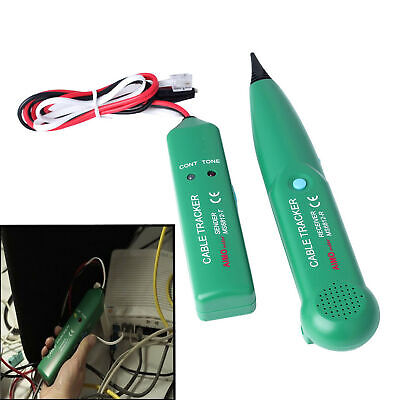 Ms6812 Cable Finder Tone Generator Probe Wire Network Tester Tracer Kit Us