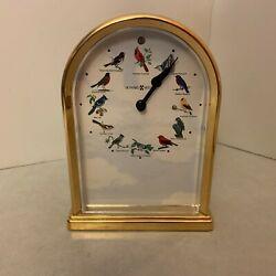 Howard Miller - Song Birds of North America III - Table Clock - Musical 645-405