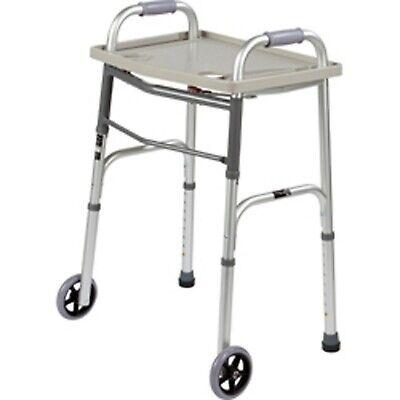 Walker Accessory Universal Walker Tray Grey Fits Most