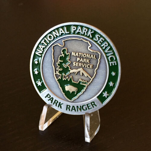 National Park Service Ranger Challenge Coin New w/Capsule