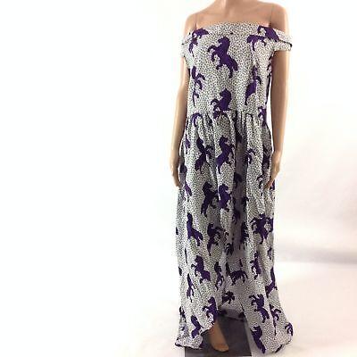 Womens Hi Low Dress African Fashion Ankara Animal Print Off The Shoulder Custom