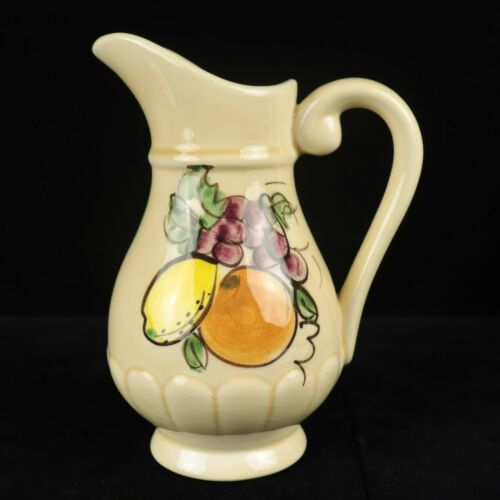 LOS ANGELES POTTERIES - Hand Painted Creamer Pitcher - Mid Century