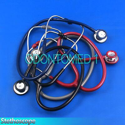 Pro Single Head Emt Stethoscope Doctor Nurse Vet First Aid Training Medical Tool