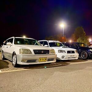 Jzs171 Toyota crown wagon 1jz turbo low kms beautiful condition.