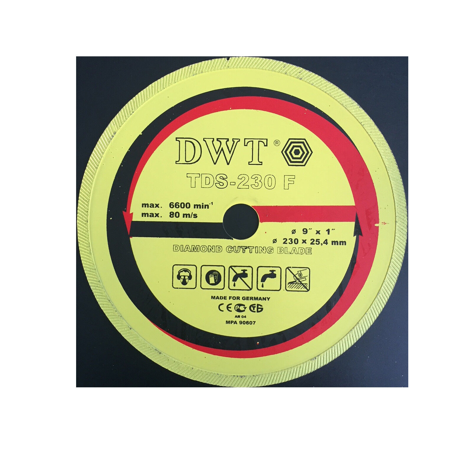 Diamanttrennscheiben Trennscheiben 150/200/300 mm für Fliesen DWT SWISS AG