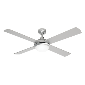Ceiling fan blade in brisbane region qld gumtree australia free ceiling fan with light new 130cm brushed steel 4 blade mozeypictures Choice Image