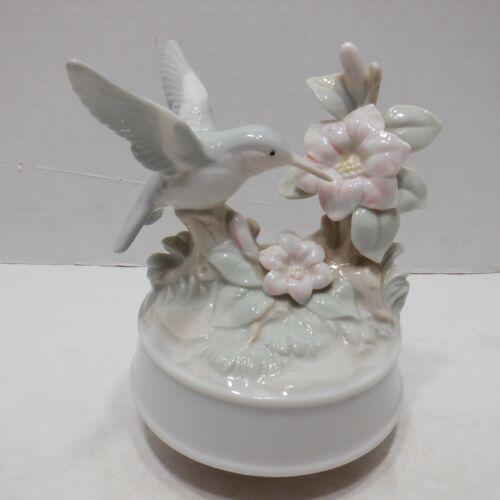George Good Hummingbird Figurine Music Box