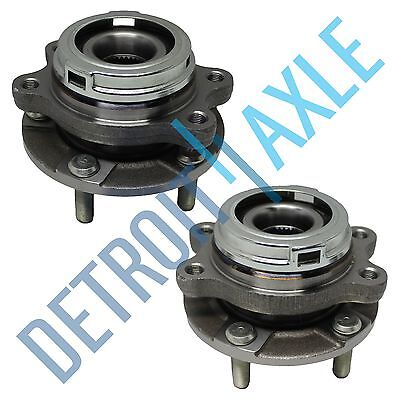 Front Wheel Bearing & Hub Assembly w/ ABS For 2009-2017 Nissan Murano