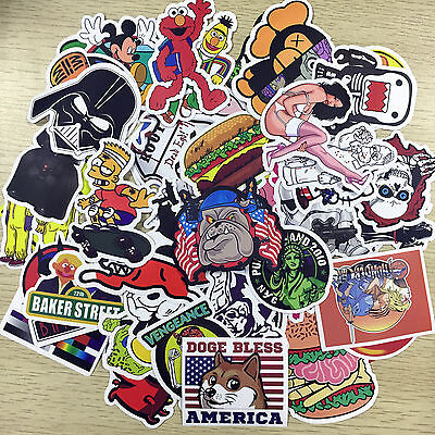 200x Vinyl Decal Graffiti Sticker Funny Bomb Car Van Window Luggage Laptop Skate