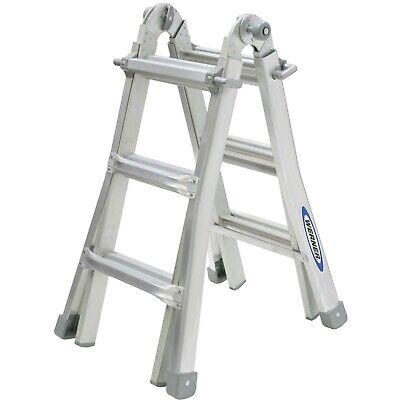 Werner Telescopic Combination Ladder MT12 4 x 3 Rung, EN131 Standard