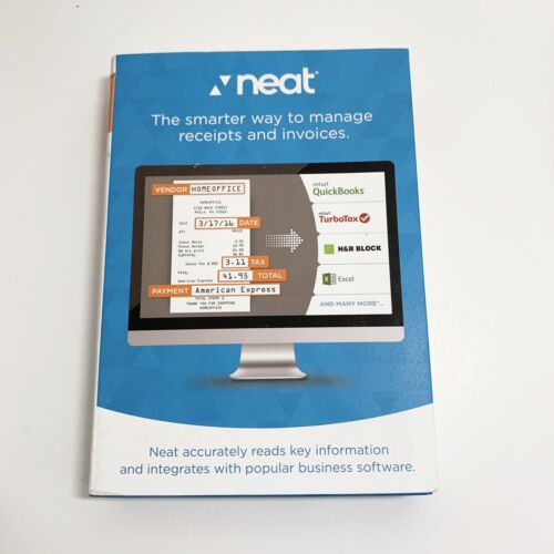 Neat Premium Software (1-Year Subscription) - Mac or Windows - NEW