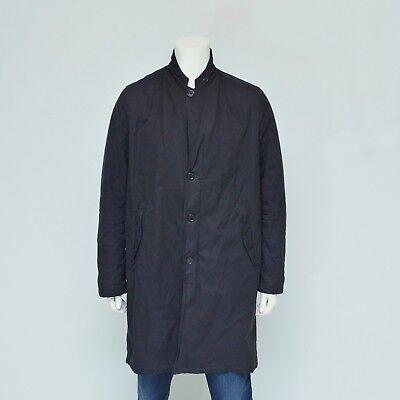 Acne Studios Trench Coat Jacket Black Size 52 Large L