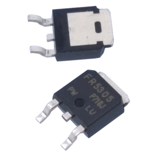 US Stock 10 pcs IRFR5305 5305 P-Channel Power MOSFET TO-252 SMD