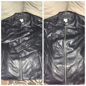 Brand new pleather jacket 2x