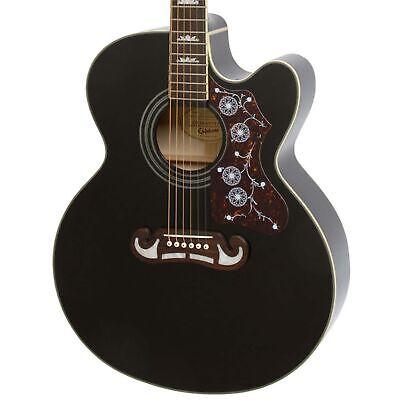 Epiphone EJ-200CE Acoustic/Elec Guitar in Black