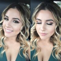 Mobile Hair & Makeup Artist Available