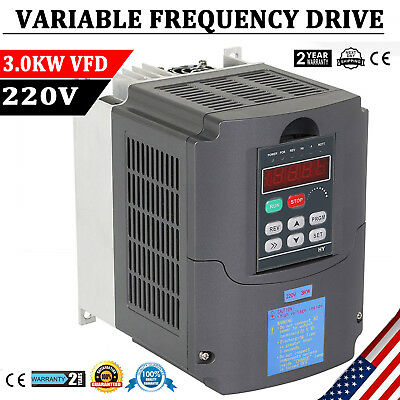 3kw 220v 4hp Vfd Single Phase Variable Speed Drive Inverter Variable Frequency